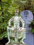 კონსტანტინე გამსახურდიას ძეგლი თბილისში