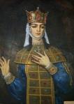 თამარ მეფე, მხატვარი ლ. ტაბიტაშვილი