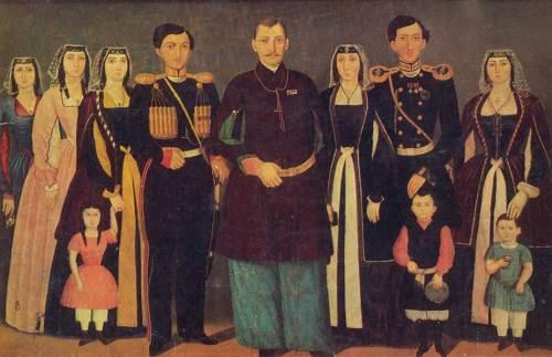 ნიკოლოზ ბაგრატიონ-მუხრანელის ოჯახი