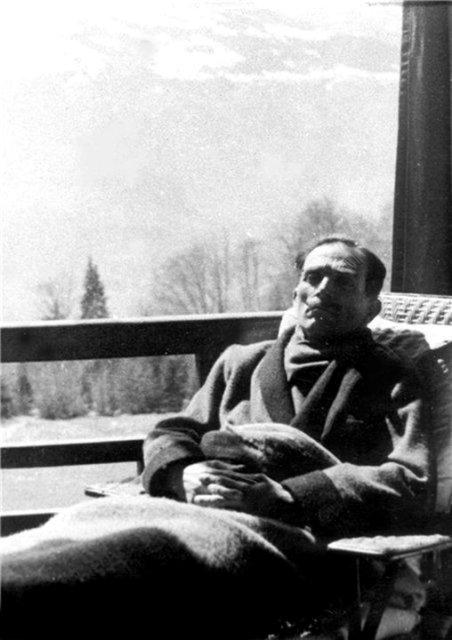 ქაქუცა ჩოლოყაშვილის ერთ-ერთი ბოლო სურათი - Kakutsa Cholokashvili
