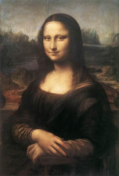მონა ლიზა - ლეონარდო და ვინჩი. Leonardo da Vinci. 1503-1505-1507