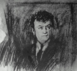 სანდრო ახმეტელი. მხატვარი - ელენე ახვლედიანი. 1928 წ.