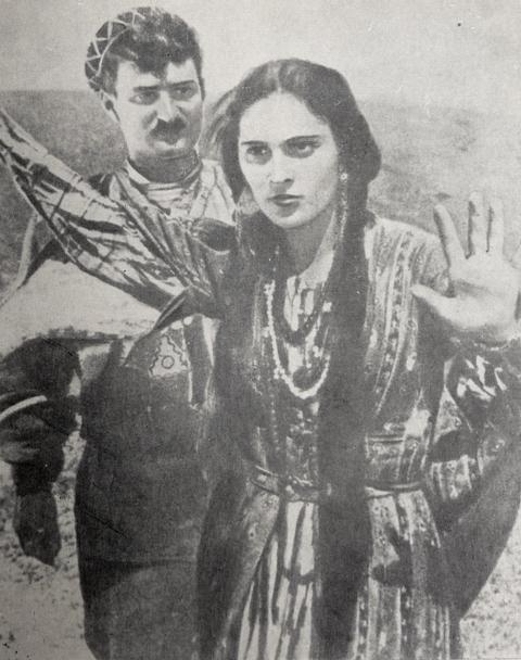 ელისო - კ. ანდრონიკაშვილი, კ. ყარალაშვილი, ელისო, რეჟ. ნიკოლოზ შენგელაია, 1928 წ.