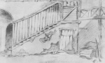 ლადო გუდიაშვილი, სარდაფი სადაც ცხოვრობდა ფიროსმანი 1917 წლის ზაფხულში