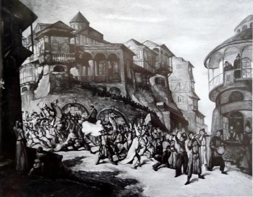 ყეენობა. ლადო გუდიაშვილი – Keenoba. Lado Gudiashvili. 1937