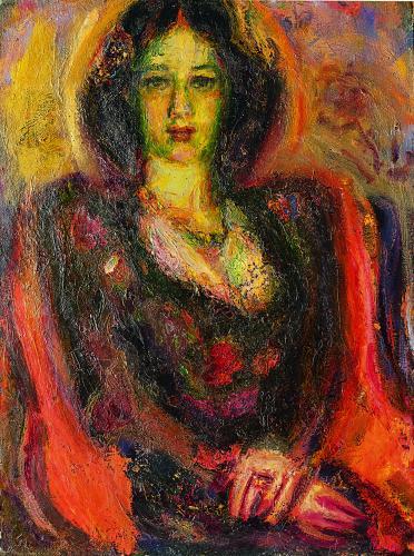 ლალი ბადურაშვილი, მხატვარი ესმა ონიანი, 1978 წ.