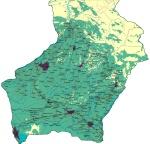 სამეგრელოს რუკა - Map of Samegrelo
