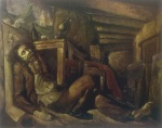 ნიკო ფიროსმანის სიკვდილი. ლადო გუდიაშვილი - Lado Gudiashvili. The Death of Niko Pirosmani (1946)
