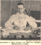 ტფილისში გერმანული სამხედრო მისიის მეთაური