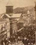 ილიას გამოსვენება სიონის ტაძრიდან 1907 წლის 9 სექტემერს