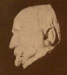 ილიას ნიღაბი, თაბაშირი, შესრულებული ფ. ხოდოროვიჩის მიერ