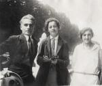 ლადო გუდიაშვილი, ელენე ახვლედიანი, ქეთევან მაღალაშვილი პარიზში