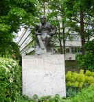 Sigmund Freud memorial in Hampstead, North London