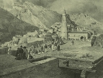Daghestan central. Place de Tsoudakhar. (1847)