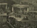 Daghestan. Ceremonie funebre a Akhaltchi (en Avarie) (1847)