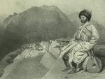 Daghestan. Ghimeri, portrait de Hadji-Mourad. (1847)