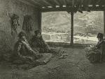 Daghestan. Lecture du chariat a Khosrakh. (1847)