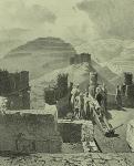 Daghestan meridional. Fort de Kazy-Koumoukh (deux vues) (1847)