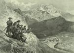 Daghestan. Montagne de Tilitle, village de Holotle. (1847)