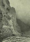 Daghestan. Pont du Diable. (1847)