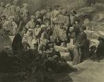 Daghestan. Repas militaire a Sioukh en Avarie. (1847)