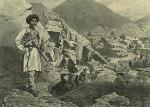 Daghestan septentrional. Arrivee a Tsatanykh. (1847)