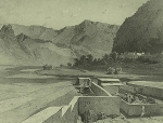 Daghestan septentrional. Zyrany (deux vues). (1847)