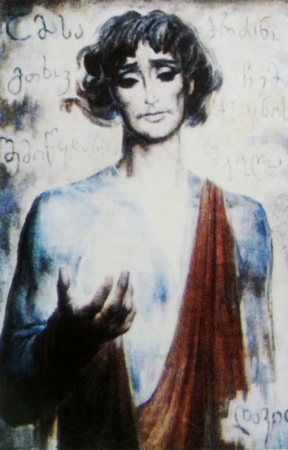 დავით გურამიშვილი, მხატვარი ზურაბ სამხარაძე