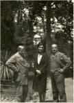 დიმიტრი შევარდნაძე, ქეთევან მაღალაშვილი, დავით კაკაბაძე. 1930 წ