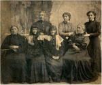 დიმიტრი შევარდნაძის ოჯახი. 1908 წ