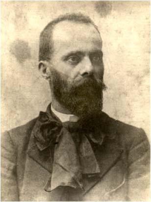 მხატვარ ალექსანდრე მრევლიშვილის პორტრეტი. 1898 წ
