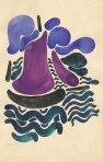 დავით კაკაბაძე - ნავები;  David Kakabadze - Boats