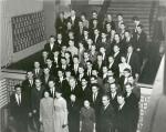 ილია ვეკუა, ნოვოსიმბირსკის სახელმწიფო უნივერსიტეტის პირველი გამოშვება, 1963 წ.