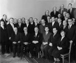 ნიკიტა ხრუშჩოვის შეხვედრა ნოვოსიმბირსკის სამეცნიერო ცენტრის მეცნიერებთან. 1961 წ.