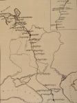 1857 წელს თბილისიდან პეტერბურგში ილია ჭავჭავაძის ჩასვლის მარშრუტი