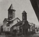 სამების ეკლესია თბილისში სადაც 1863 წლის 10 აპრილს ჯვარი დაიწერეს ილიამ და ოლღა ჭავჭავაძეებმა
