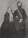 ოლგას და - ეკატერინე გურამიშვილი და მისი მეუღლე, გენერალი დ. სტაროსელსკი