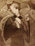 ავტოპორტრეტი, 1919 წ.