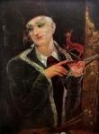 ავტოპორტრეტი. ლადო გუდიაშვილი – self-portrait, 1950
