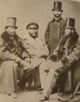 ილია ჭავჭავაძე პეტერბურგელ ქართველ სტუდენტებთან, 1859 წ.