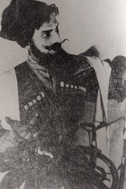 """კირილე, გ. შავგულიძე, დ. კლდიაშვილი - """"სამანიშვილის დედინაცვალი"""", 1937"""