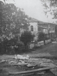 კოშკი, სადაც დაიბადა ილია ჭავჭავაძე (გადაკეთების შემდეგ), ყვარელი