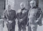 მარცხნიდან მარჯვნივ უჩა ჯაფარიძე, გოგი თოთიბაძე, გ. ჯაში, 1983 წ.