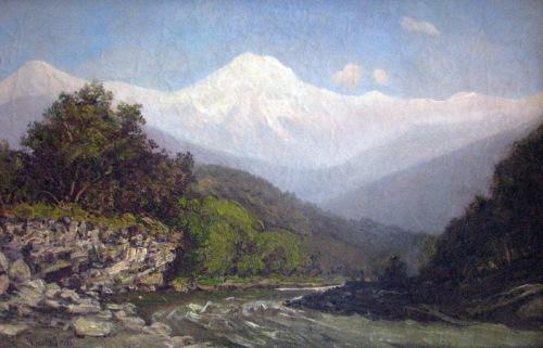 მდინარე მთაზე, 1880-იანი წლები