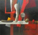 Red, Black and Fragments. Alex Berdysheff