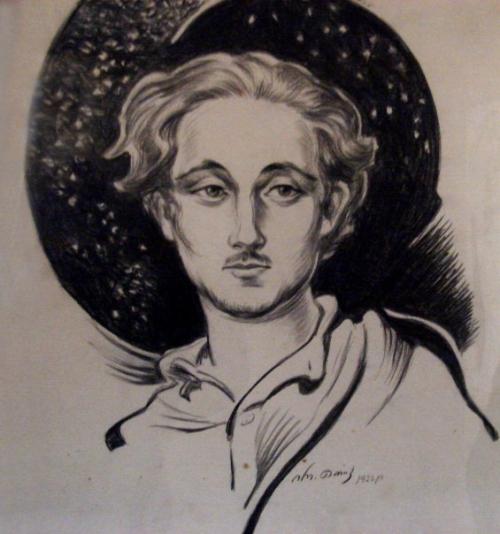 ტერენტი გრანელი, მხატვარი ირაკლი თოიძე, 1922 წ.
