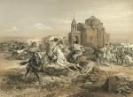 სასომხეთი, სპარსთა და ქურთთა ბრძოლა, 1847, გრიგოლ გაგარინი