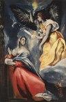 1595-1600, Annunciation