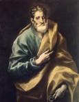 1606, Apostol St Peter