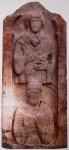 7 ოშკი. დავით მაგისტროსისა და მარიამ ღვთისმშობლის სტელა. ერზერუმის მუზეუმი